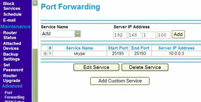Enable Port Forwarding on Your Router